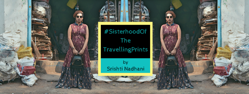 #SisterhoodOfTheTravellingPrints Facebook Cover