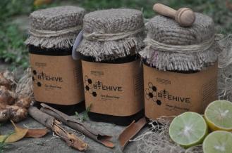 Richa Modi - Organic Honey ( She designed the label for the honey )